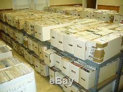 1,000 Comic Books no duplication wholesale lot marvel DC bulk 1000