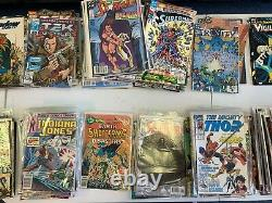 100 Comic Book Lot, Marvel and DC only- all different Free Shipping GREAT GIFT