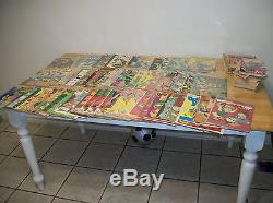 103 collectable comics and other pubs, golden age to 1980's. FREE SHIPPING