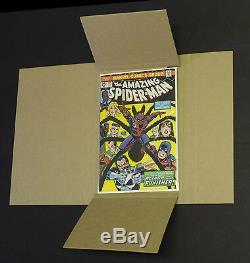 150 GEMINI Comic Book Flash Mailers + 50 Divider Pads Combo