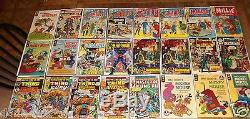1950's TO 1970'S COMIC BOOK COLLECTION TONS OF 10 20 30 40 50 DOLLAR COMICS