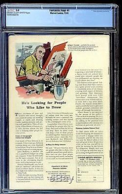 1961 Fantastic Four #1 CGC 5.0 The Fantastic Four and Mole Man 1st App