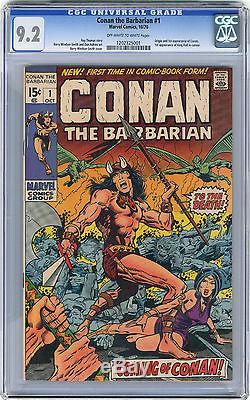 1970 Conan The Barbarian 1 CGC 9.2