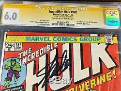 20 Keys 1st WOLVERINE Hulk 181 cgc ss Stan Lee 6.0 Trimpe 1988 9.8, 1982 9.6 NM+