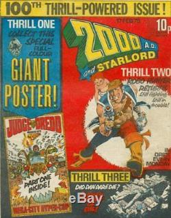 2000AD ft JUDGE DREDD THE COMPLETE COMIC COLLECTION PROG 1 to Prog 2000
