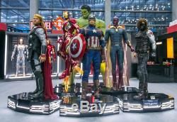 6 Life Size Avengers Infinity War 11 Wax Statues Hulk Iron Man Thor Cap America