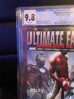 9.8 CGC Ultimate Fallout #4 Miles Morales 1st Appearance 1st Print (Oct. 2011)