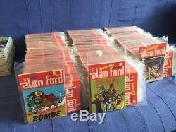 Alan Ford Lot 71-448 Vjesnik Mint Strip Comic- Croatia Yugoslavia