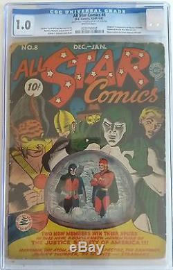 ALL STAR COMICS 8 CGC 1.0 0235790001 1st Wonder Woman! Hot book