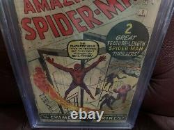 AMAZING SPIDER-MAN #1 CGC 1.8 nicest 1.8 you will find beautiful book