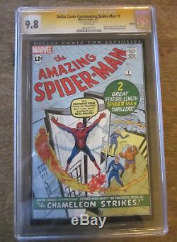 AMAZING SPIDER-MAN #1 CGC 9.8 SS Signed auto STAN LEE Dallas Comic Con