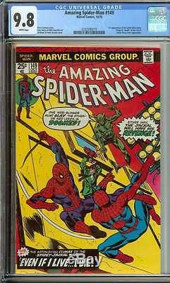 Amazing Spider-man #149 Cgc 9.8 White Pages