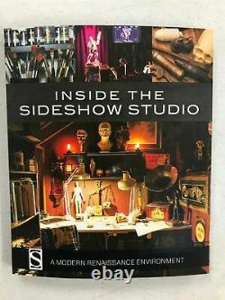 ARH Studios ARHIAN CITY OF HORROR EX 1/4 statue CUSTOM Red Sonja + Sideshow Book