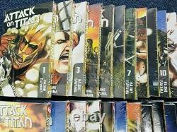 ATTACK ON TITAN Hajime Isayama Manga Vol 1-32 Full Set English Comic DHL FedEx
