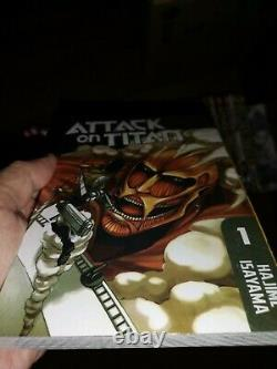 ATTACK ON TITAN Hajime Isayama Manga Volume 1-32 Full Set English Comic EXPRESS