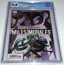 Absolute Carnage Miles Morales #1 CGC Universal Grade 9.8 Comic Spider-Man Venom