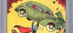 Action Comics #1 Cgc 9.6 Wp Rare Hi-grade Safeguard Promo Reprint 1938-1976