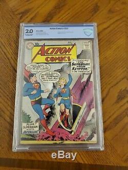 Action Comics # 252 (cbcs 2.0) Key Book