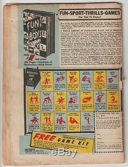 Action Comics #65, Superman, War Book, Hitler Panels, (10/43) DC Golden Age