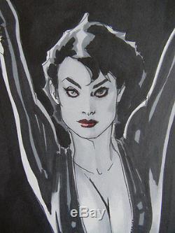 Adam Hughes Original Catwoman