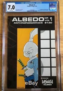 Albedo #2 first appearance of Usagi Yojimbo CGC 7.0