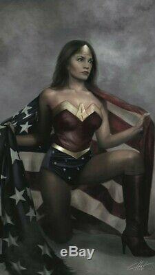 Alexandria Ocasio-Cortez (AOC) Freshman Force Wonder Woman Variant (Cohen)