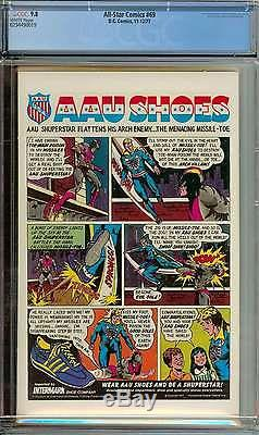 All-star Comics #69 Cgc 9.8 White Pages