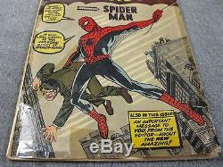Amazing Fantasy 15 (1962) 1st appearance SPIDER-MAN UNCLE BEN & AUNT MAY