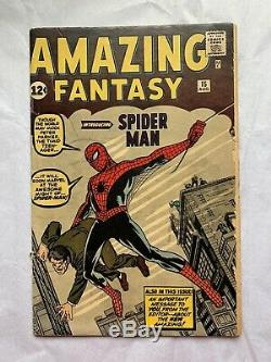 Amazing Fantasy #15 == 1st Appearance Of The Amazing Spider-man 1962