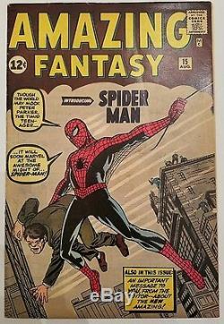 Amazing Fantasy #15 (Aug 1962, Marvel)