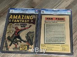 Amazing Fantasy 15 CGC 0.5 Marvel 1962 Holy Grail 1st Appearance of Spider-man