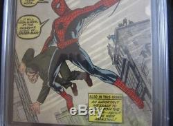 Amazing Fantasy #15 CGC 3.5 First Appearance Of Spider-Man
