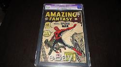 Amazing Fantasy #15 Marvel 1962 CGC 3.5 Origin & 1st Appearance of Spider-Man