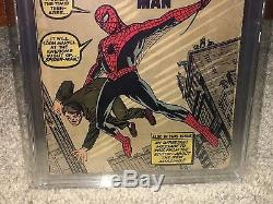 Amazing Fantasy #15 PGX 3.5 1962 1st Spider-Man! Holy Grail! Like CGC! G11 cm
