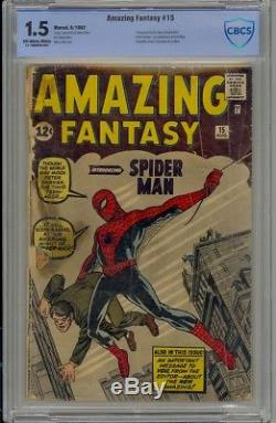 Amazing Fantasy#15 The Holy Grail Of The Silver Age! No Chipping