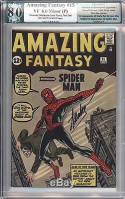 Amazing Fantasy #15 Vol 1 PGX 8.0 Beautiful High Grade 1st App of Spider-Man