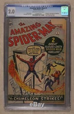 Amazing Spider-Man #1 CGC 2.0 1963 1336081002
