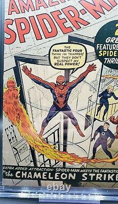 Amazing Spider-Man #1 CGC 3.0 2nd app Spider-Man 1st JJonah MEGA KEY Marvel 1963