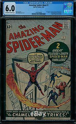 Amazing Spider-Man 1 CGC 6.0 owithw pages