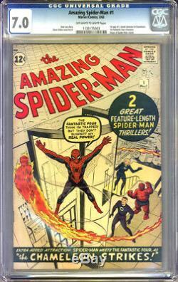 Amazing Spider-Man #1 CGC 7.0 FN/VF Universal CGC #1133175003