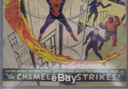 Amazing Spider-Man #1 Marvel 1963 CBCS 4.5 (VERY GOOD +)