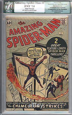 Amazing Spider-Man #1 Vol 1 PGX 7.0 Very High Grade Original 1st App Chameleon