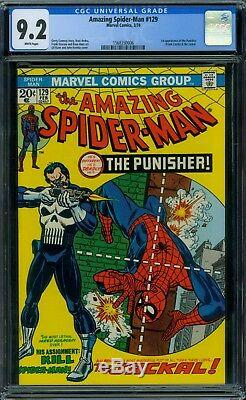 Amazing Spider-Man 129 CGC 9.2 White Pages