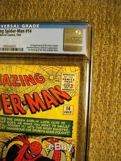 Amazing Spider-Man #14 CGC 5.0 VG/FN 1st appearance of Green Goblin