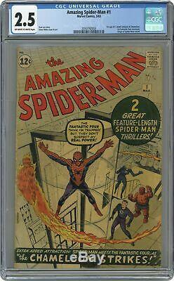 Amazing Spider-Man (1st Series) #1 1963 CGC 2.5 2050792003