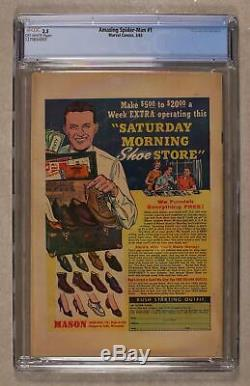 Amazing Spider-Man (1st Series) #1 1963 CGC 3.5 1270654001