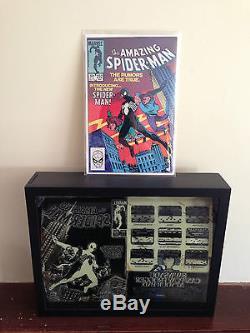 Amazing Spider-Man 252 Cover Printing Plate 1st Black Costume Secret Wars Movie