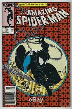 Amazing Spider-Man #300 (1988, Marvel) 1st App Venom, Todd McFarlane, VG+/F