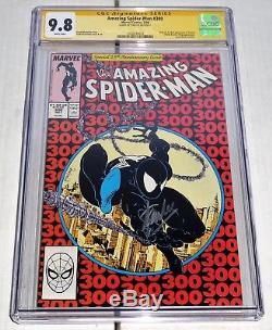 Amazing Spider-Man #300 CGC 9.8 Signature Autograph STAN LEE Origin 1st Venom