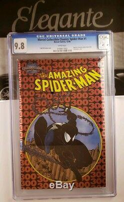 Amazing Spider-Man #300 Chromium Cover CGC 9.8 Todd Mcfarlane's 1st Venom